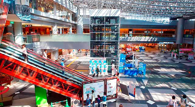 There are two terminals in Sapporo Airport: Domestic and International.