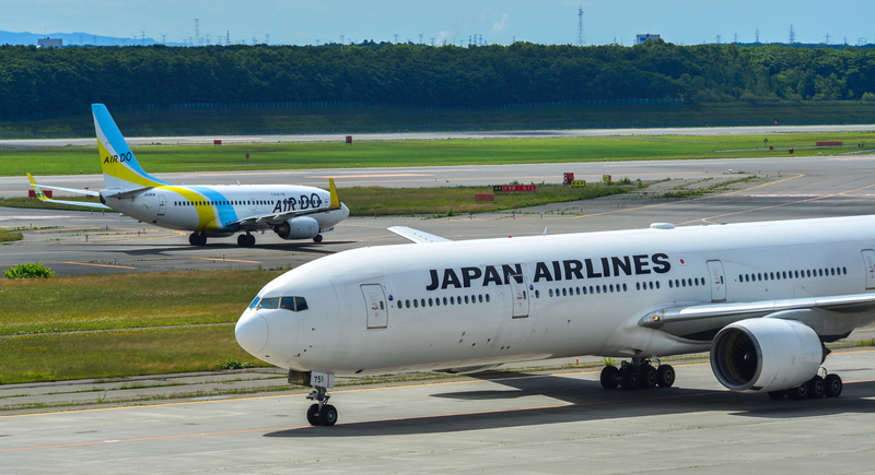 CTS Airport serves the second busiest air route in the world, New Chitose - Tokyo Haneda.