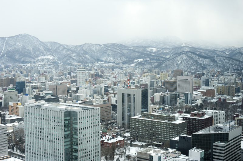 Sapporo is the largest city of the island of Hokkaido, in Japan.
